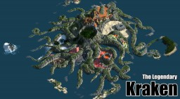 The Legendary Kraken [2k island - 12 cust biomes] Minecraft Map & Project