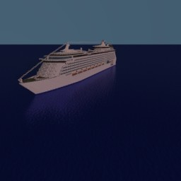 MS Liberty Of The Seas (1.9) Minecraft Map & Project