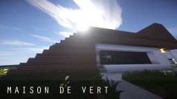 Maison De Vert / Modern House Design Minecraft Map & Project