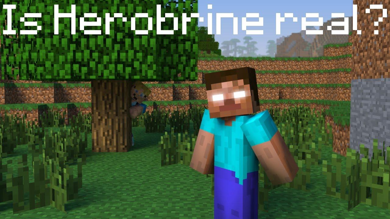 Minecraft Theory: Herobrine Is REAL Minecraft Blog