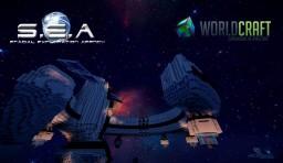 S.E.A (Spacial Exploration Agency) & E.E.I (International Space Station) Minecraft
