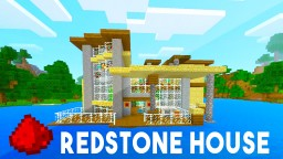 MCPE Island Redstone House Minecraft Blog Post