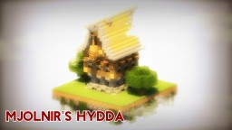 Mjolnir's Hydda (House) | Nordic/Rustic Build by BmoGuyHeh Minecraft Project