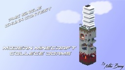 Modern College dorms     # PMC BUILD CHALLENGE Minecraft Map & Project