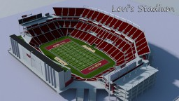 Ultra Realistic Levi's Stadium project ( San Francisco 49ers - 1,000,000 + blocks ) Minecraft Map & Project