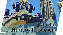 Nordic Inspired Spawn Minecraft Map & Project