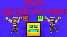 Pack for map Geometry Dash Minecraft Texture Pack
