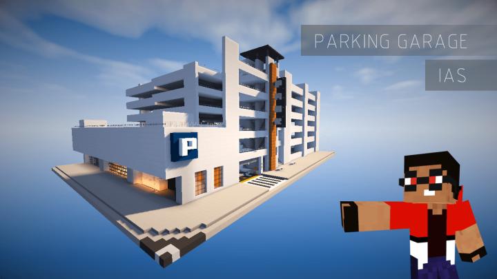 Parking Garage Minecraft Project