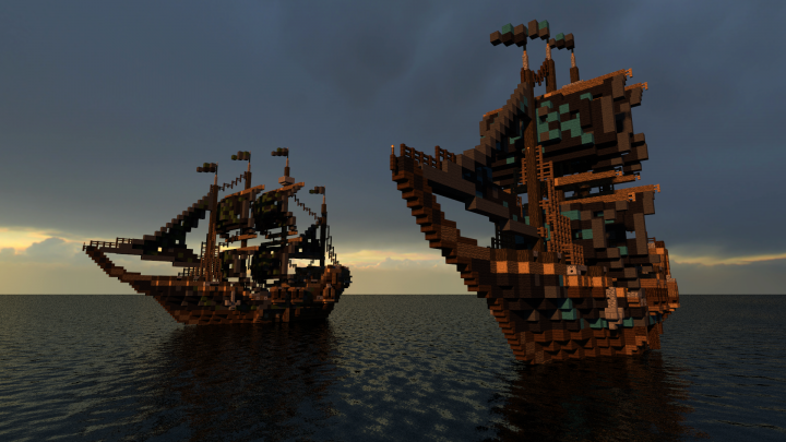 pirate ship battle game