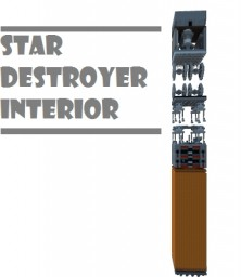 Star Destroyer Interior-Chunk Challenge Minecraft Project
