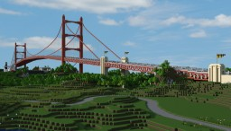 Bedrock Bay Bridge | Pont de la Baie de Bedrock Minecraft Project