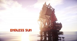 ~Endless Sun 1:1 17th century asian 42 gun frigate~ Minecraft