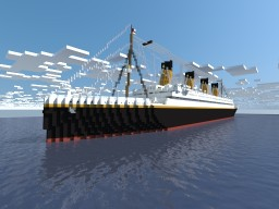RMS Titanic V2 [1:1] [Exterior Only] Minecraft
