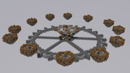 [FREE Schematic] Clockwork: 12 Player Skywars map Minecraft Map & Project