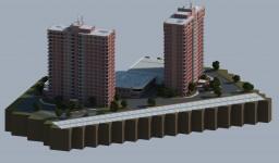 Riverside Club Apartments Minecraft Project