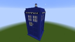 Giant TARDIS Minecraft Map & Project