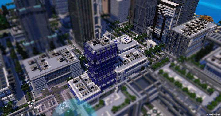 City hospital render