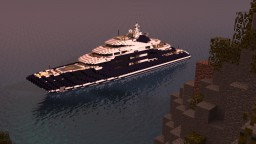 Serene - Megayacht [1:1 Scale] Minecraft Project
