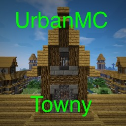 UrbanMC Towny Minecraft Server