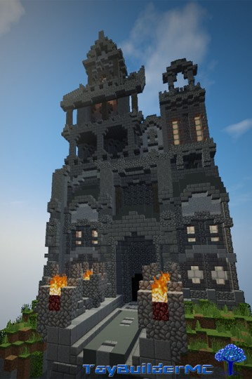 Plot A baroque mansion Minecraft Project