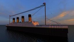 R.M.S Titanic 3rd version by WhiteStarCraft Minecraft