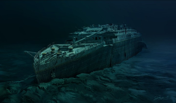 Titanic Wreck Minecraft Project