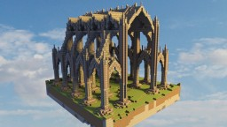 Gothic hall Minecraft Map & Project