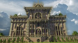 Gothic Villa Minecraft Map & Project
