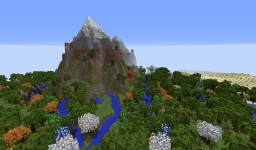 Mountain_oasis Minecraft Map & Project