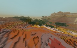 MESA CANYON FOREST Minecraft Map & Project