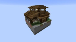 Wisconsin Acres Golf Club Clubhouse Minecraft Map & Project
