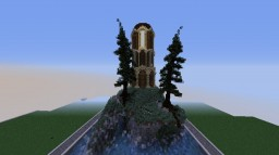 trees and a tower | arianadaris Minecraft