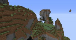Aether World Preset in Vanilla 1.10 Minecraft Map & Project