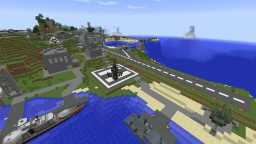 Military Base; mcheli, new stefinus 3d guns Minecraft