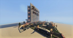 Modern hotel on the beach Minecraft Map & Project