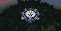 8 Portal Hub Spawn Minecraft Map & Project