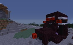 Giant Quad Shooter Tank Minecraft Project