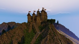Medieval castle -Flac server- Minecraft Map & Project
