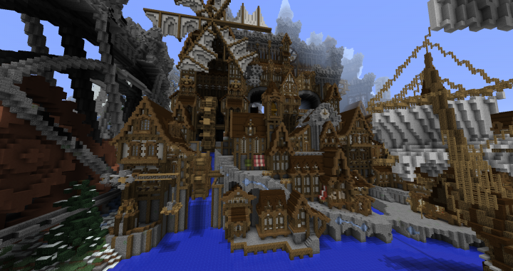 Conderial - Steampunk City Minecraft Project