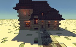 French Country House Minecraft Map & Project