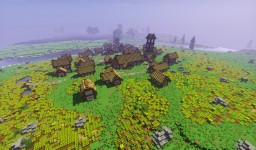 [Cinematic Video!] The Medieval Town of Daret Minecraft Map & Project