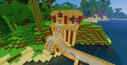 Jungle House Minecraft Map & Project