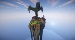 Floating island survival hideout. Minecraft Project