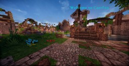 Destroyed Caerfon Tydoria Medieval City Minecraft Map & Project