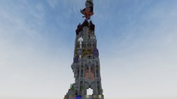 Solo Build Chunk Challenge: The Lonely Tower Minecraft Project