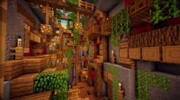 Ravine Village Minecraft Project