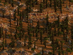 The Striped Rock ||| 10 Worldpainter Mesa brushes ||| Minecraft Map & Project