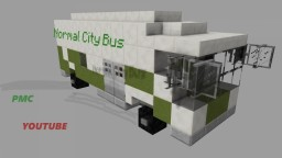 Normal City Bus | Well made with Details Minecraft Project