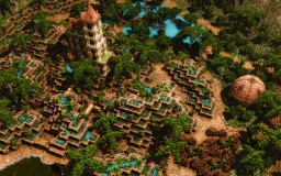 TropicalCity By Fleixe [Elysium Fire App] Minecraft Map & Project