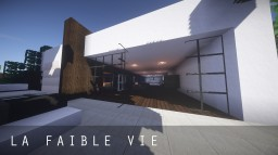 La Faible Vie / Modern House Design Minecraft Map & Project